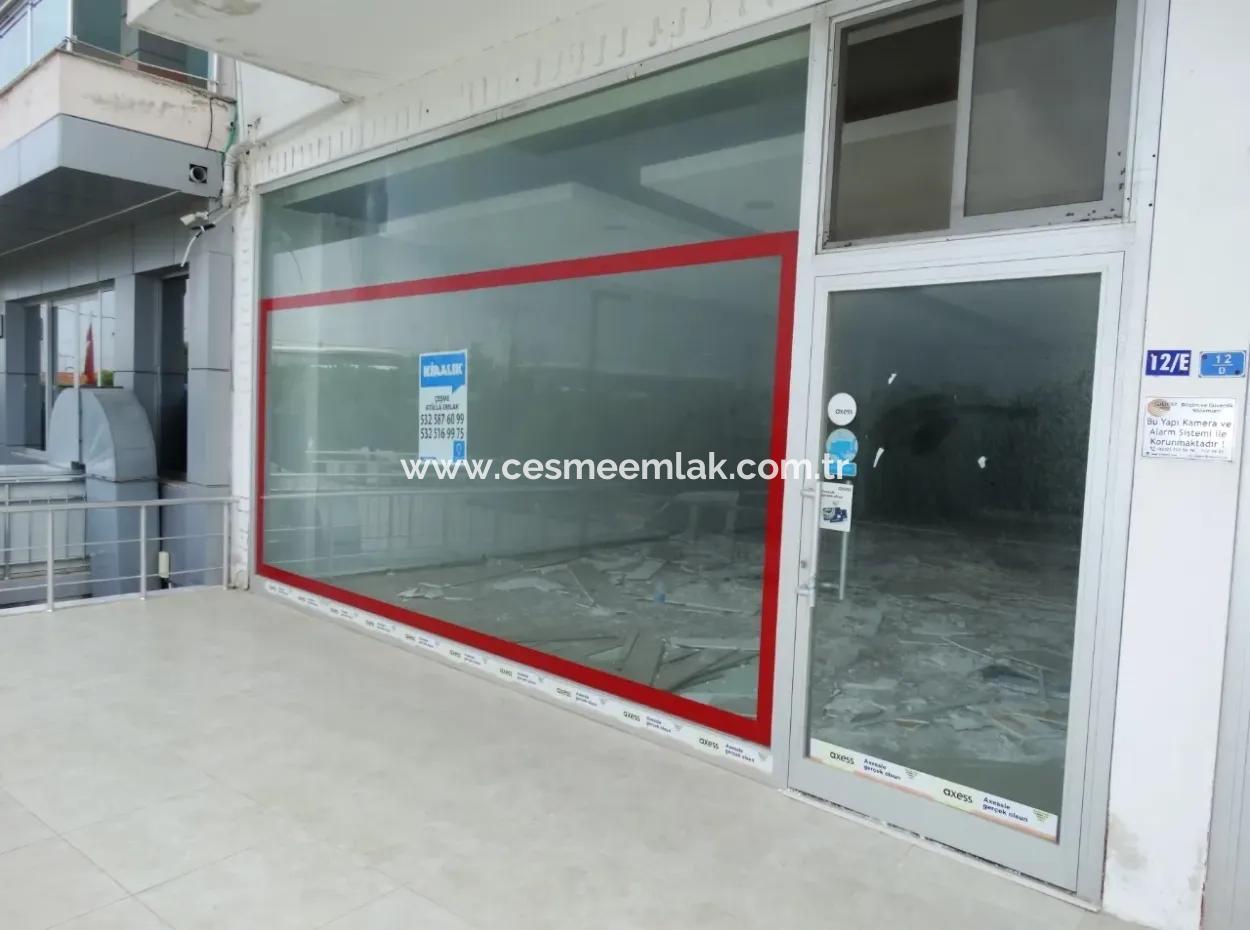 Çeşme Ilıca Çevreyolu İstikametinde Kiralık Dükkan