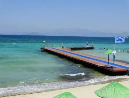 Çeşme Boyalık'Ta Denize Sıfır Sitede 3+1 Yazlık