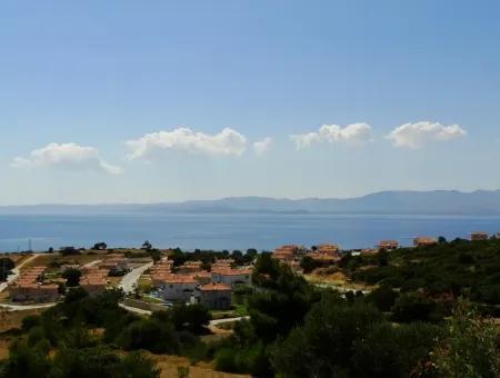 Çeşme Ayasaranda'da Full Deniz Manzaralı Satılık 3 Dönüm Arazi